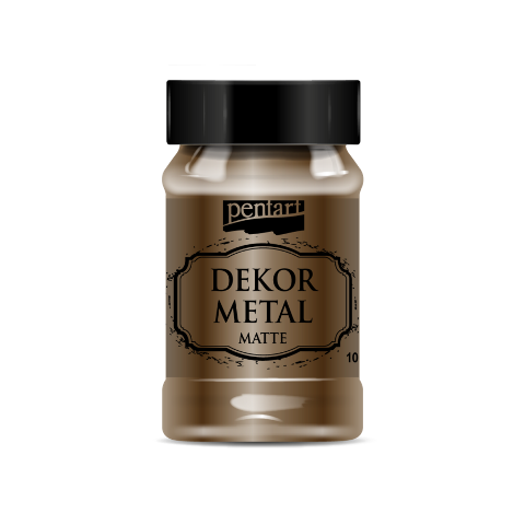 Dekor metal mat 100 ml - ANTRACIT