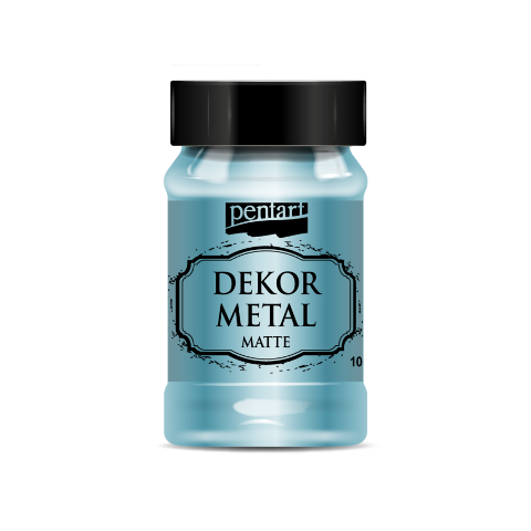 Dekor metal mat 100 ml - TYRKYS