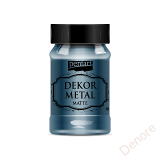 Dekor metal mat 100 ml - OXFORD MODRÁ